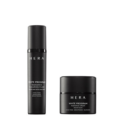 HERA White Program Radiance Clearing Fluid and Cream