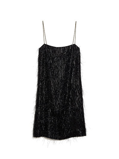 Kate Spade Luren Fringe Dress is another must-have in your holiday party capsule wardrobe