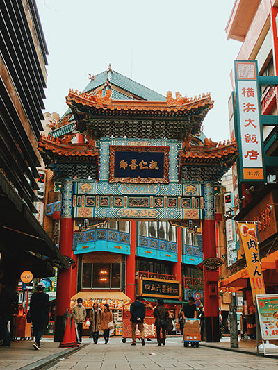 One of the most popular Lunar New Year destinations is Yokohama's Chinatown area