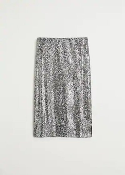 Mango sequin skirt
