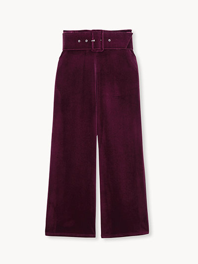 Pomelo Drops of Jupiter Holiday Collection '19 Velvet Pants