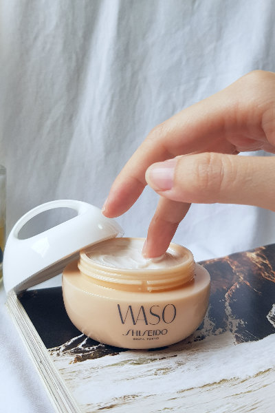 waso shiseido beauty cream review