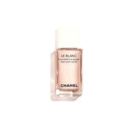 A product shot of the CHANEL LE BLANC Rosy Light Drops
