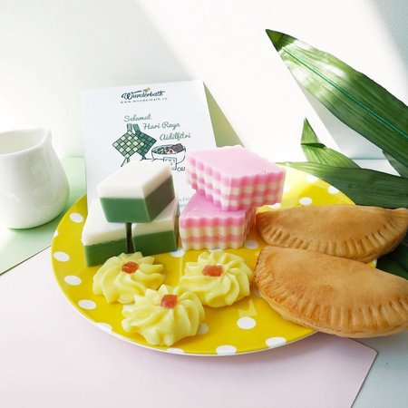 Pastry-looking soaps