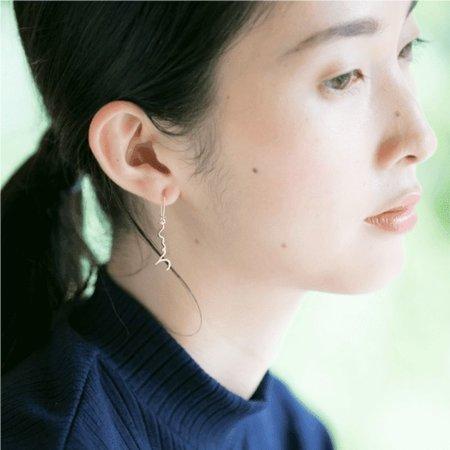 """Kokoro """"Heart"""" Pierced Single Earring"""