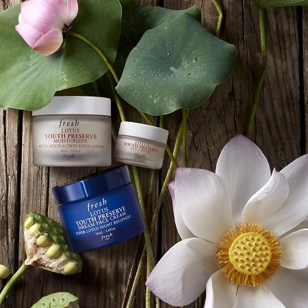 fresh Lotus Youth Preserve Moisturiser and Eye Cream