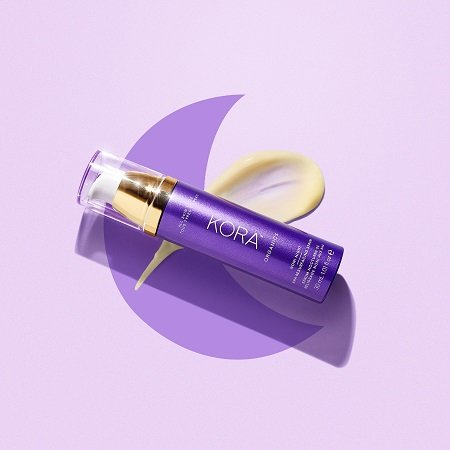 A photo of the KORA Organics Noni Night AHA Resurfacing Serum