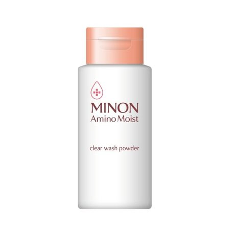 Product shot of the MINON Amino Moist Clear Wash Powder