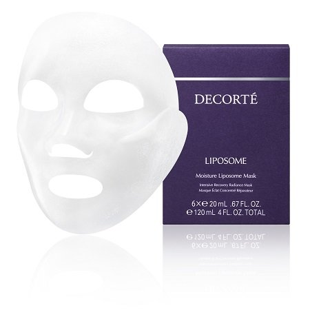 Product shot of DECORTÉ Moisture Liposome Mask