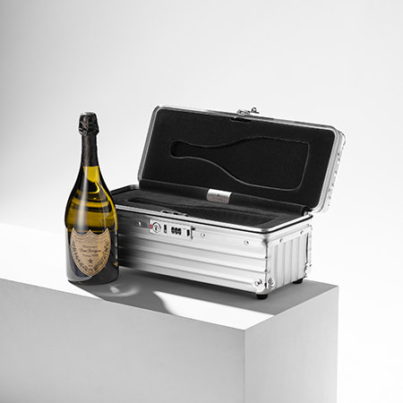 A champagne case one of the most unique travel gift ideas
