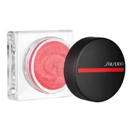Shiseido's mousse-like blush in shade Sonoya.