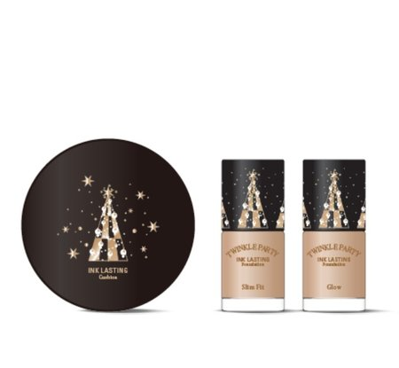 Twinkle Party Ink Lasting Cushion Special Set
