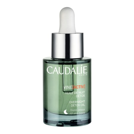 caudalie detox night oil