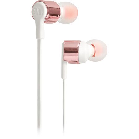 JBL rose gold earphones