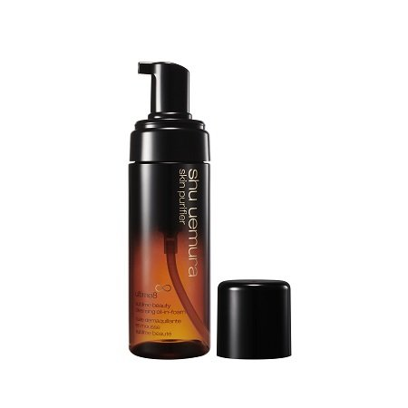 A product photo of the Shu Uemura Ultime8∞ Sublime Beauty Cleansing Oil-In-Foam