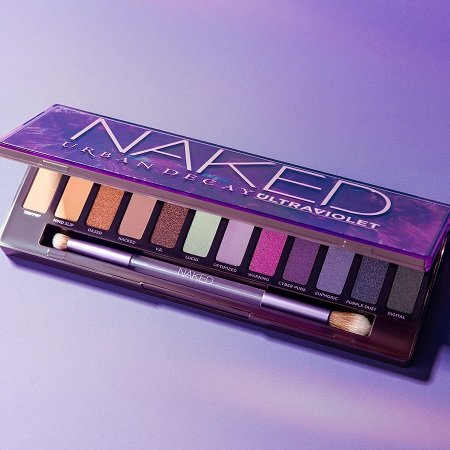 A photo of the Urban Decay Naked Ultraviolet Eyeshadow Palette