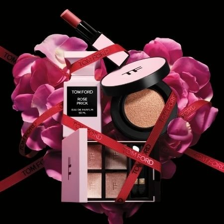 The products in the Tom Ford Beauty Limited Edition Rose Prick Collection