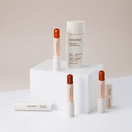All the products currently in Innisfree's Simple Label Line