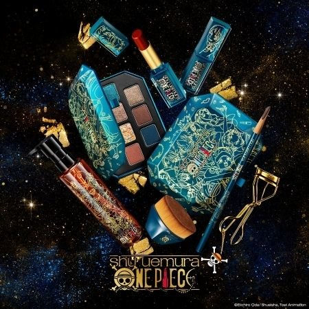 All the products in the Shu Uemura x ONE PIECE Collection included in October 2020 beauty launches