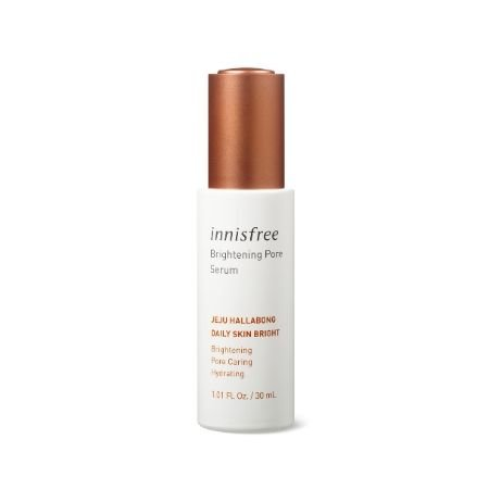 A product photo of the Innisfree Brightening Pore Serum