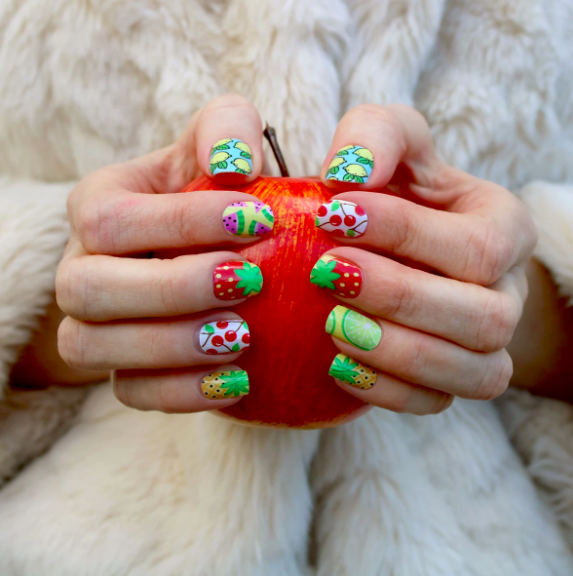 Fruity Nail Art - Wraps