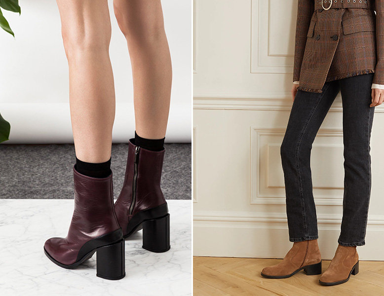 dear frances maroon boots by far brown suede boots