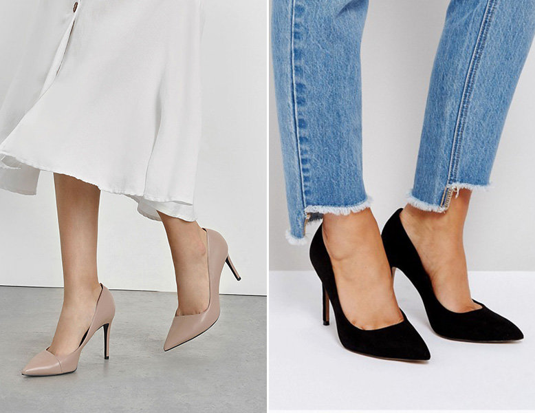 charles keith nude asymmetrical pumps asos design black pumps