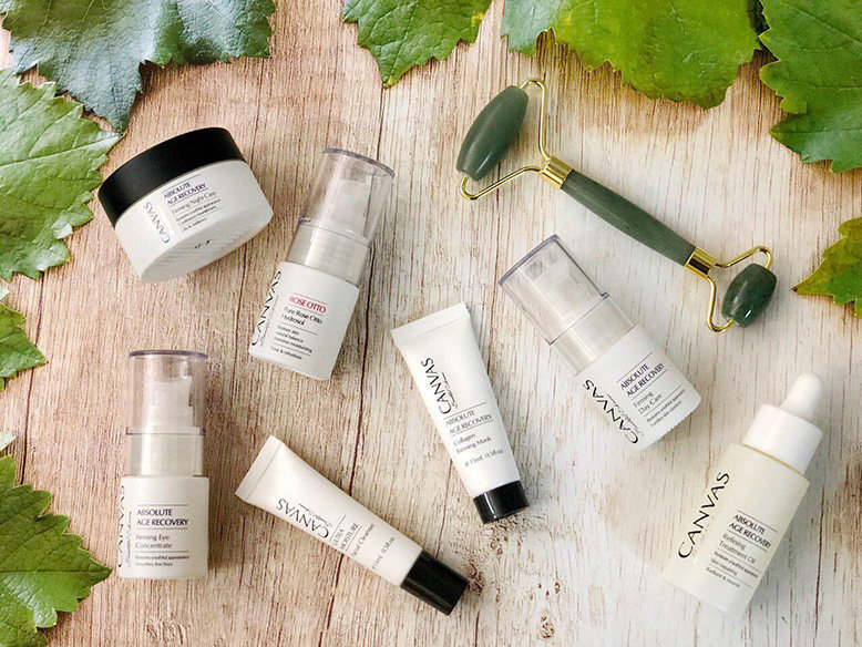 CANVAS Five-step Skincare Regime Range