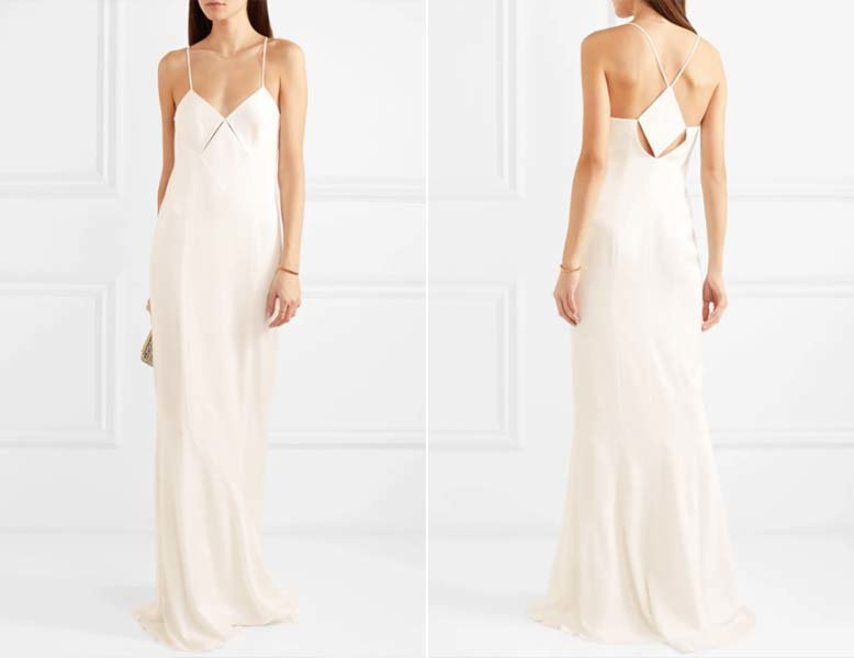 Casual Wedding Dress Minimalist