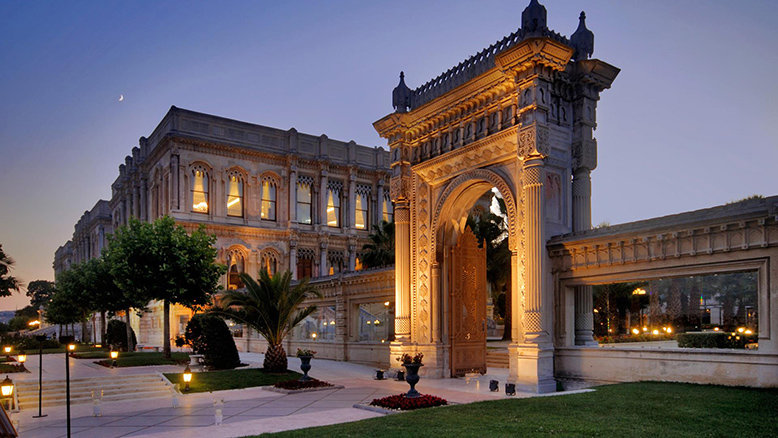 Çirağan Palace Kempinski is just one of the many castle hotels you can stay in when travelling around the world