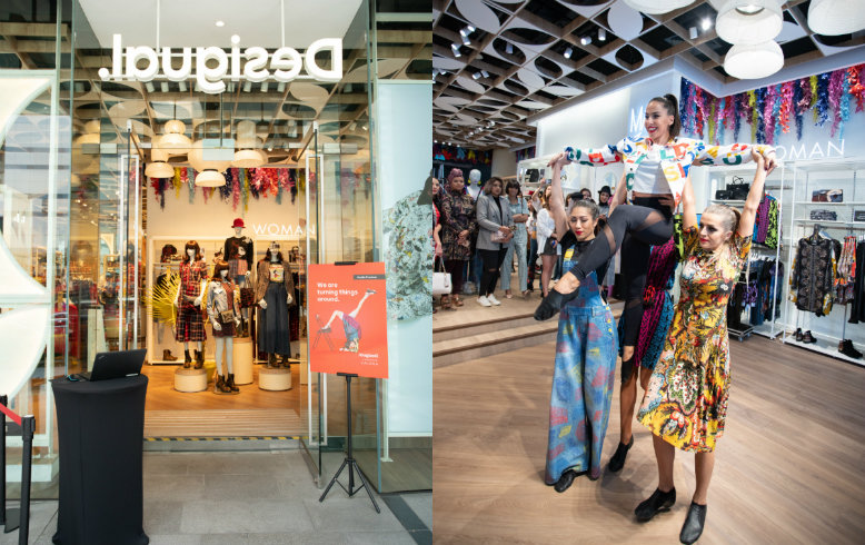 Unveiling of Desigual's new logo and collection in partnership with Zalora, along with the launch of Vice Cosmetics x BT21 collection are just some of the hottest news this week
