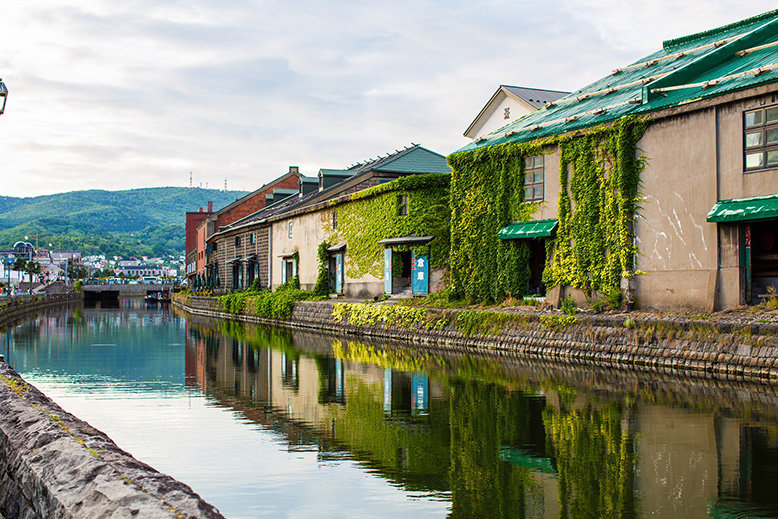 Otaru Canal in the city of Otaru is a perfect travel destination for an INFJ Myers-Briggs personality type