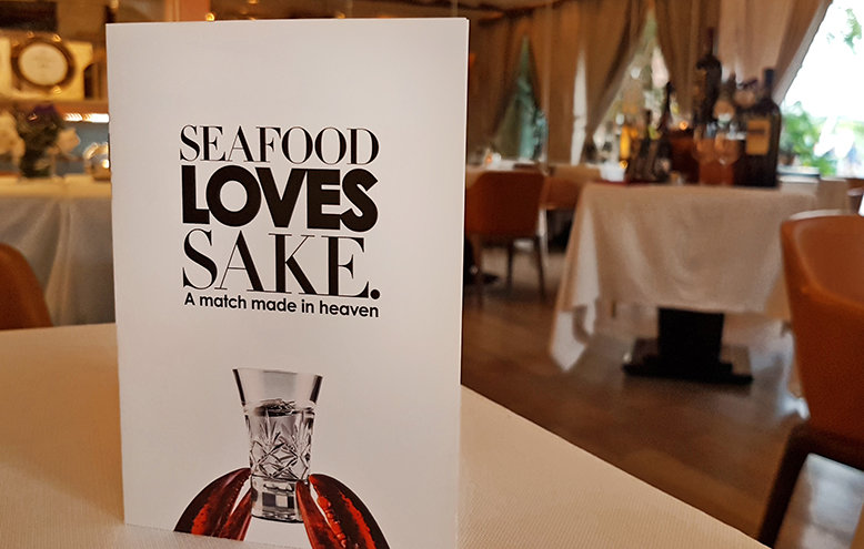 """Seafood Loves Sake"" campaign at CURATE"