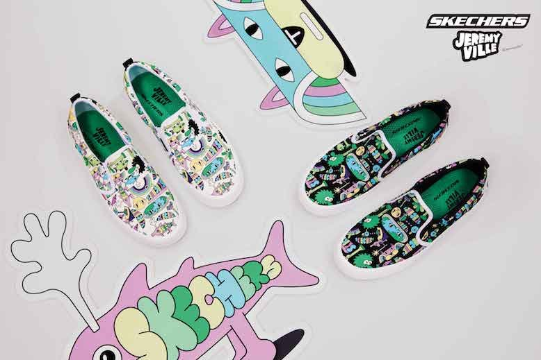 Skechers x Jeremyville Collection