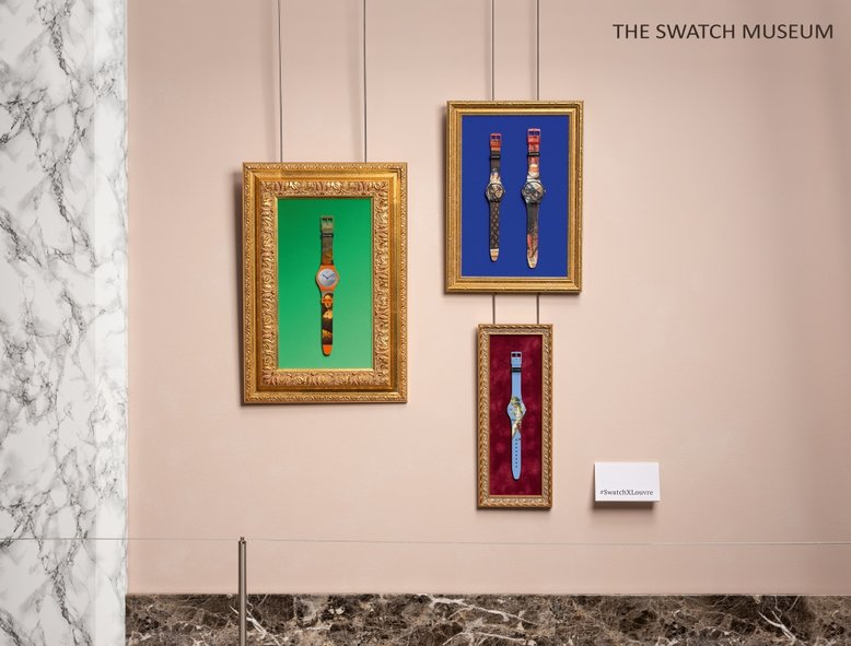 Swatch x Louvre Collection