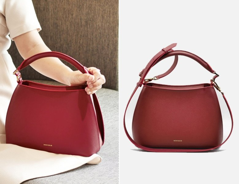 sift and pick monique bangkokg swan top handle bag