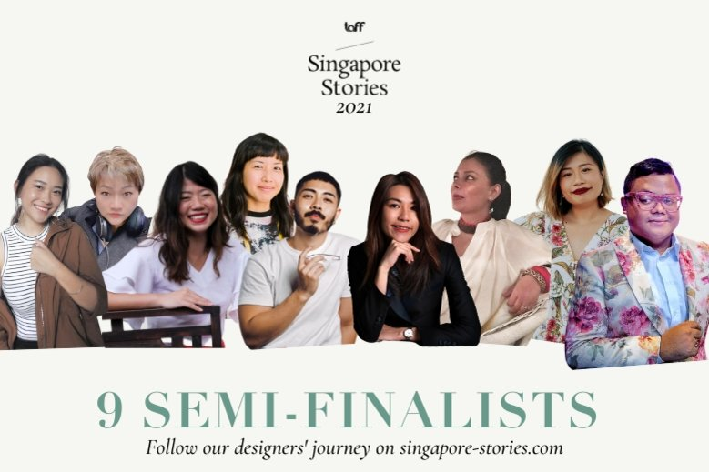 nine semi finalists of TaFF Singapore Stories 2021 competition