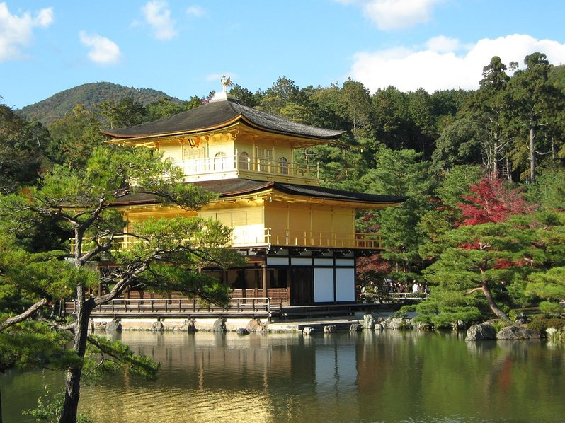 Day trip from Osaka - Kinkakuji in Kyoto