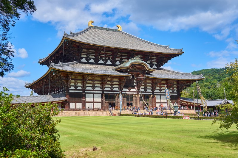 Day trip from Osaka - Nara Todaiji Temple