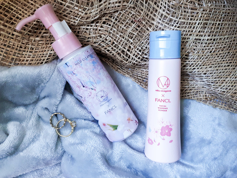Review: Mika Ninagawa x FANCL Cleansers Packaging