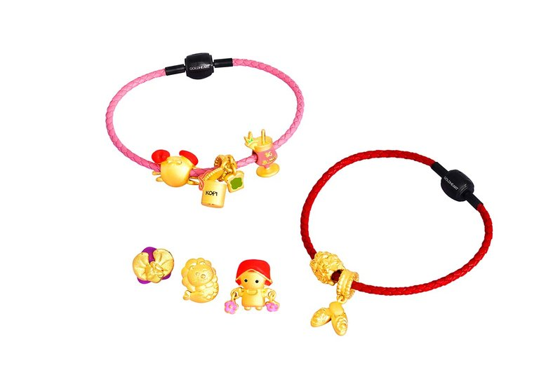 Goldheart Singapore charms