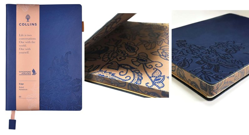 Collins Debdens Singapore Day Journals