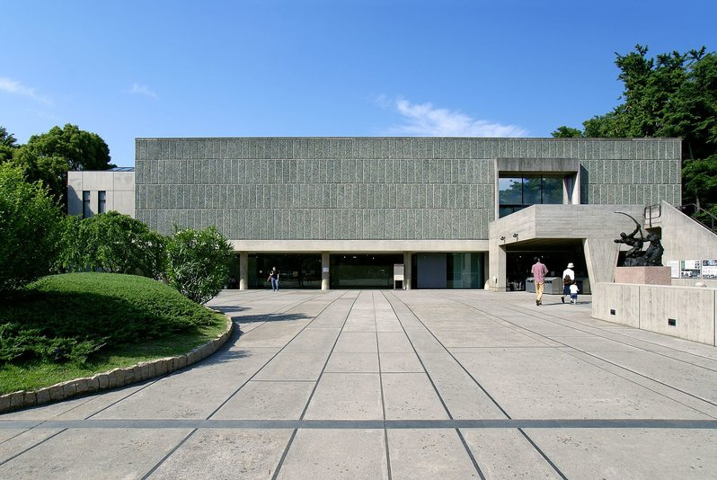 One of the museums at Ueno Park