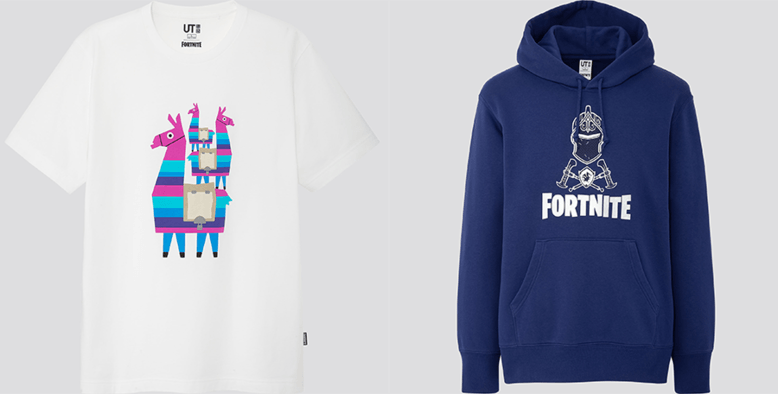 Uniqlo Fortnite UT Collection
