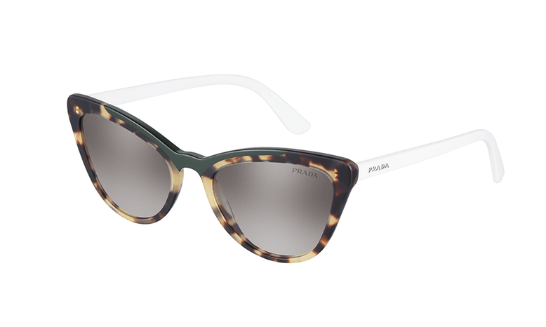 Retro 60s Cat Eye Prada Sunglasses