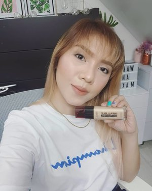 Finally found my daily full coverage lightweight foundation in the new @lorealpro @lorealph infalliable 24h fresh wear. . This full coverage foundation mimic that perfect second skin finish. I was amazed how lightweight this foundation is with that kind of coverage. This no shine, no transfer, no dry-out and no mask effect foundatiin is the perfect everyday foundation for me! . . . . . #lorealinfalliable24hfreshwear #freshlook #longlasting #gotofoundation #newloreal