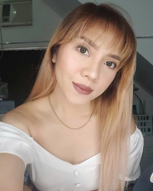 Welcome back Bangs! . . Makeup for today! Foundation: @lorealph infalliable pro matte Concealer: @maybellinephshop fit me Brows: @benefitph brow zings  Blush: @maccosmeticsph powder blush  Lips: @sunniesface fluffmatte in mood Powder foundation: @australiscosmetics_ph fresh and flawless pressed powder in deep natural . . . . #newlook #newhair #motd #clozette
