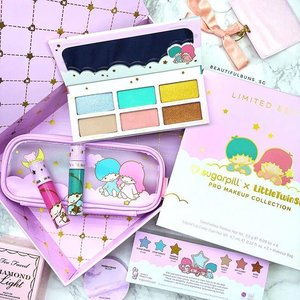 "Yaasssss it's here! The Sugarpill x Little Twin Stars limited edition makeup set has arrived! This was one of my childhood favourites (and I didn't have much of these items when I was young), so now that it has ""adulted"" into a makeup set, I absolutely couldn't say no 💙💖 If you're keen, I got mine from Beautylish - US$79 for the set, including free FedEx shipping, which arrived in just a few days 🛒💨Woohoo! - - - - - - #sugarpill #sugarpillxlts #littletwinstars #beautylish #prettymakeup #shoppinghaul #onlineshopping #sanrio #pastel #kikiandlala #clozette #makeup #makeupaddict  #ilovemakeup #Косметичка #makeupflatlay #beautylish #trendmood #красота #kosmetik #cosméticos #cosmeticos #cosmetica #kosmetyki #maquillaje #뷰티그램 #코스메틱  #Косметика #化粧"