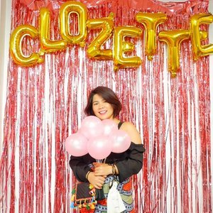 Thank you @clozetteco for throwing an awesome party for everyone in the community. A new family that I will treasure, see you on the next! 💓 📸 @adventuresofcamille #qingsstyledotcom #clozetteparty2018 #clozette  #starclozetter