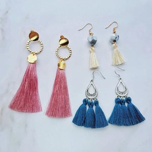 #THappyPlaceSG specializes in affordable, handmade and hand-crafted #EarringsSG. I always do #JuneunicornGiveaway for Beauty items, here's doing one related to #Fashion for a change. Stand a chance to win this beautiful 3 pairs #TasselEarring #TasselEarrings set consisting of the Ring, Mini Marble & Teardrop Boho (worth $36.70) for yourself and to share with your girlfriends!  How to #WINsg? 1) Follow @THappyPlace & @Juneunicorn on Instagram. 2) Like this post. 3) Mention 3 girlfriends in the Comment section. One girlfriend per comment. 4) *Extra Chance* Go to my Juneunicorn - Caren Foo Facebook page for another chance to #sgWIN.  #ContestSG ends this Saturday, 1 December 2018, 2359pm. *This #GiveawaySG is only for those in #Singapore #SingaporeGiveaway. Other Terms & Conditions apply. Good Luck! 🙂  #Clozette #EarringSG #EarringSingapore #EarringsSingapore #SgEarring #SgEarrings #SingaporeEarring #SingaporeEarrings #TasselEarringsSG